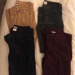 Jcrew corduroy pants.